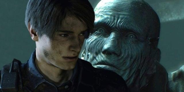 Resident Evil 2 Cosplay Leon Mr X Capcom