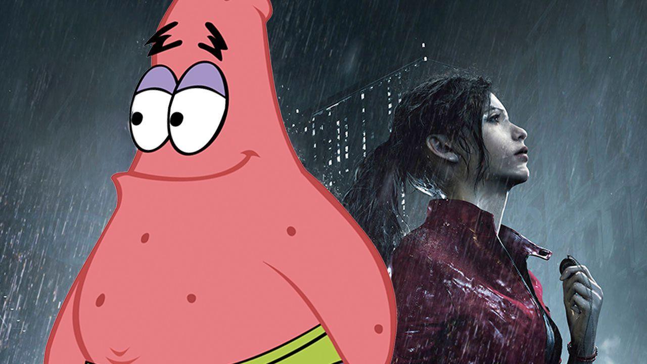 Resident Evil 2 Mod Patrick Star
