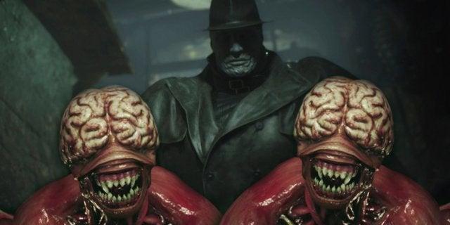 Resident Evil 2 Mr X Licker Capcom