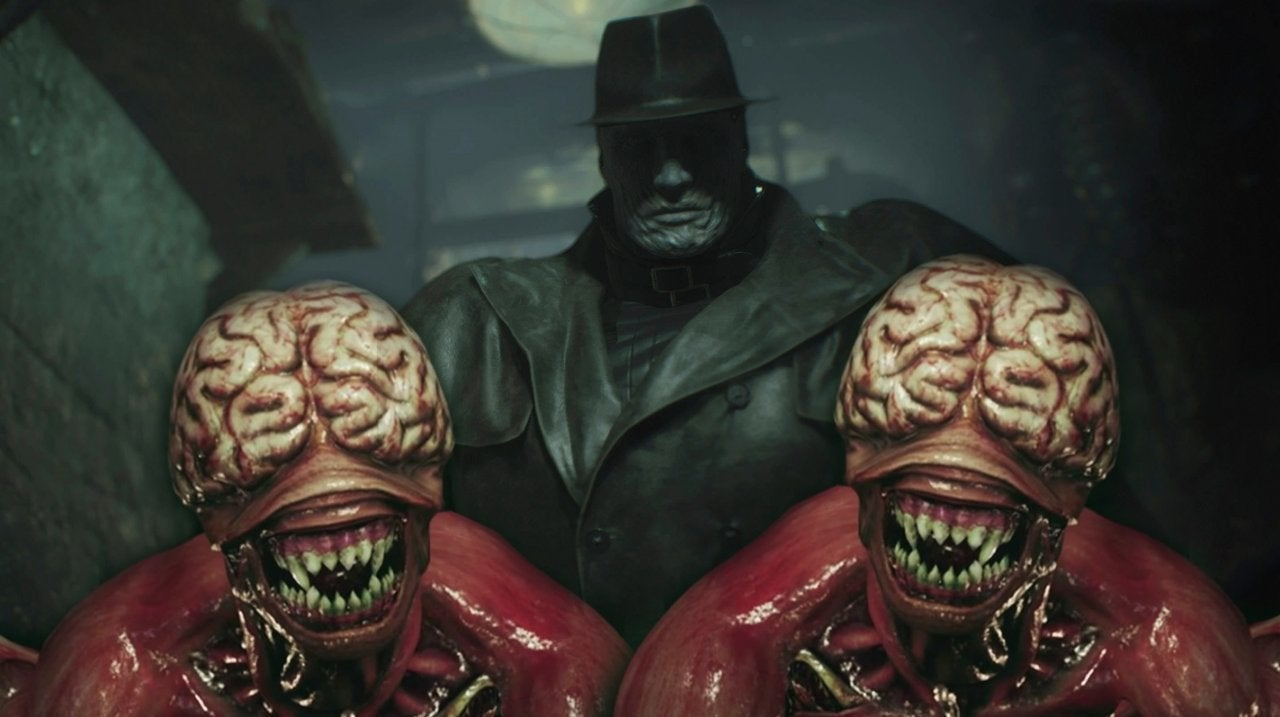 Resident Evil 2 Mr X Licker Capcom