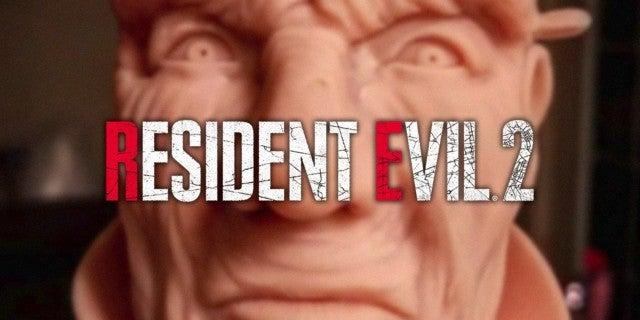 Resident Evil 2 Mr X Sculpture