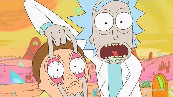 rick and morty toxic fandom
