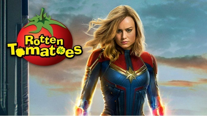 rotten tomatoes captain marvel