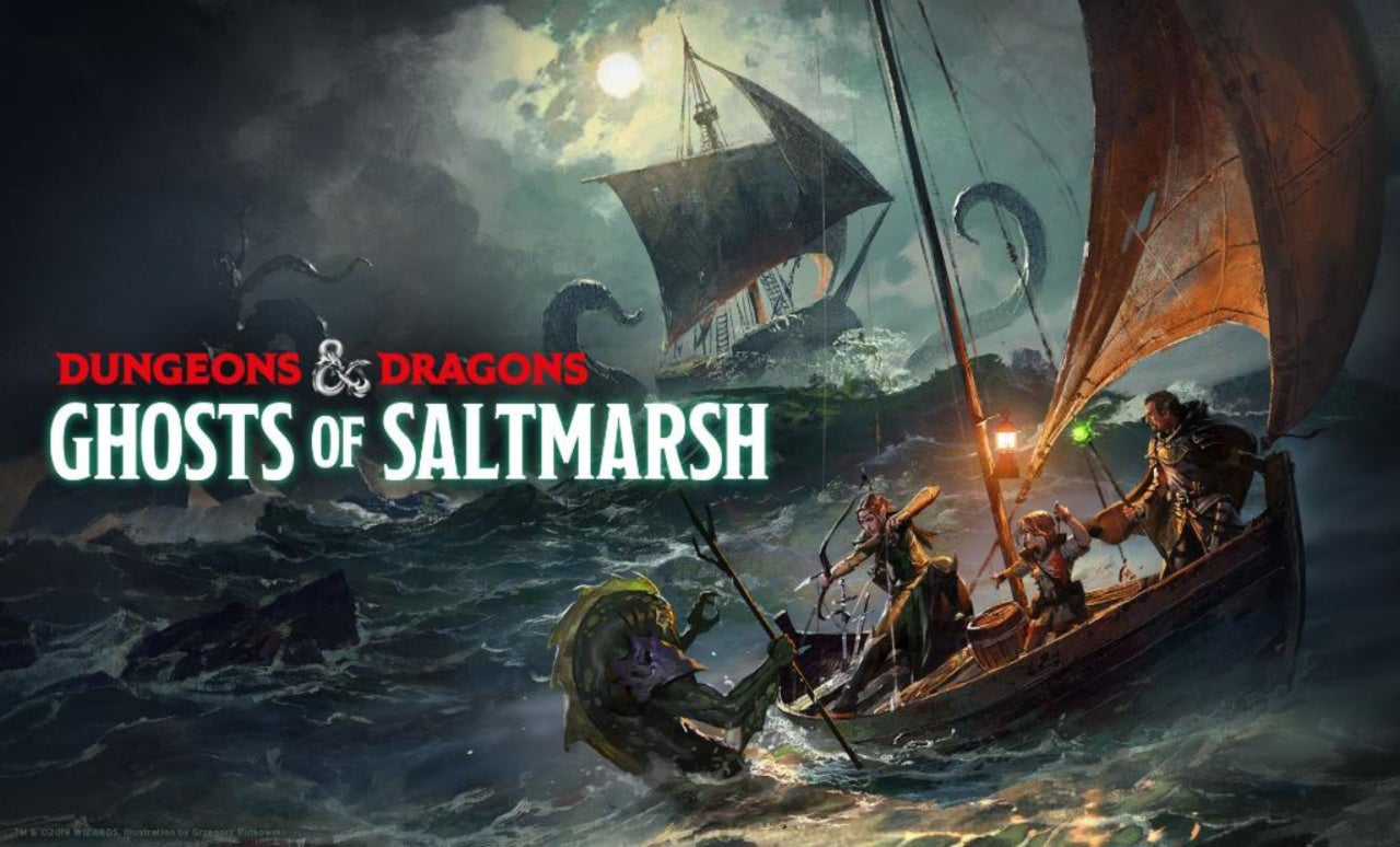 Dungeons & Dragons' Confirms 'Ghosts of Saltmarsh' Will Be