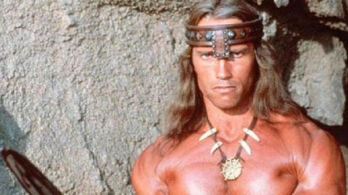 Schwarzenegger Conan the Barbarian