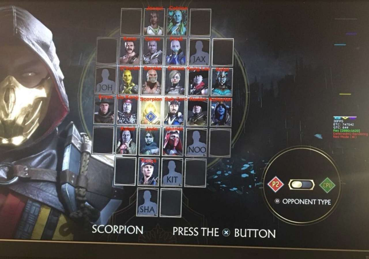 Mortal Kombat 11' Full Roster Leaked