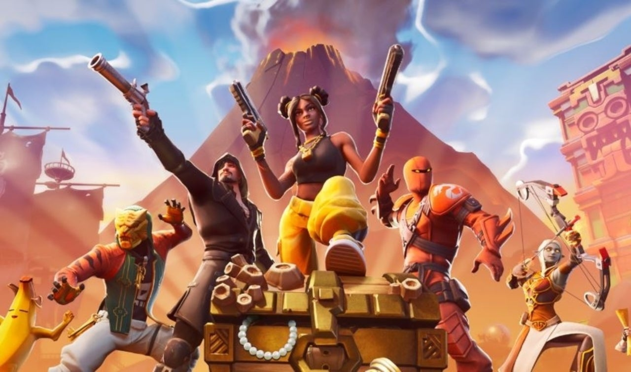 Fortnite' Season 8 Brings a Monstrous Volcano, Crazy Pirate