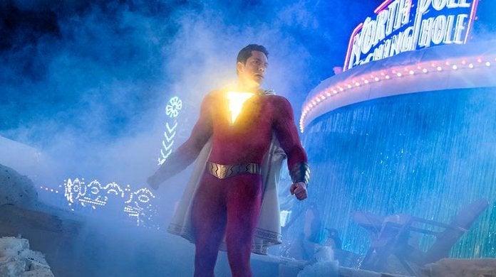 Shazam Movie Amusement Park Fight Scene