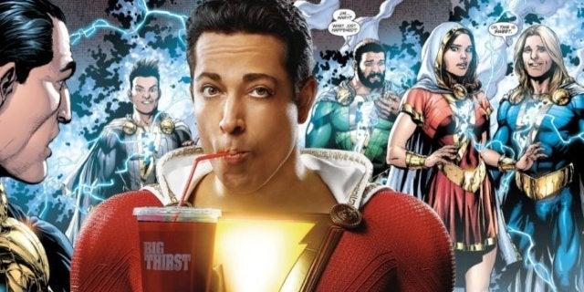 Shazam movie Shazam family
