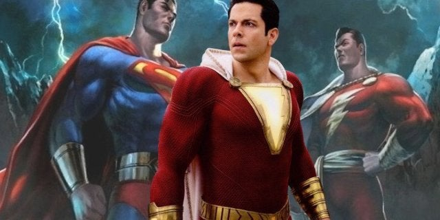 Shazam Superman Mortal Kombat