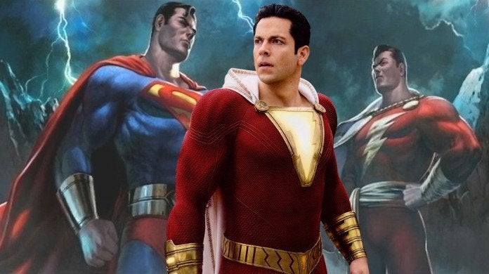 Shazam Superman Mortal Kombat