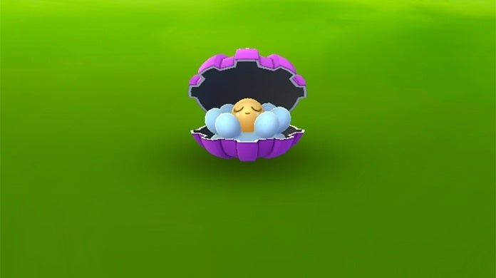 shiny clamperl