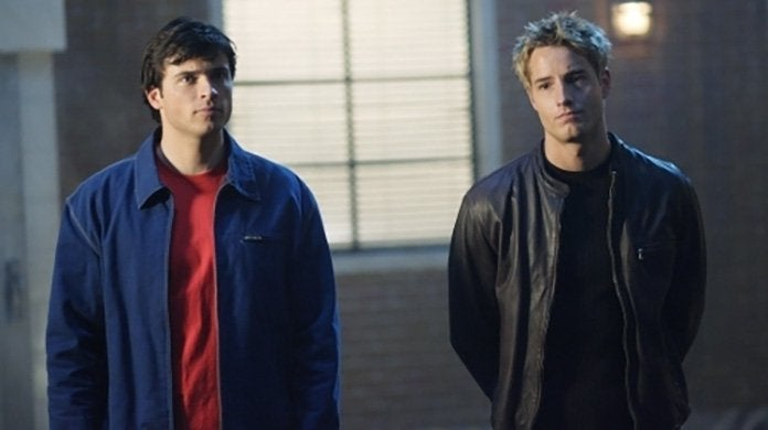 smallville tom welling justin hartley