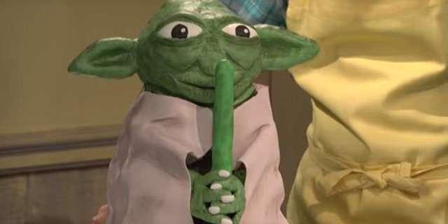 SNL Yoda Cake