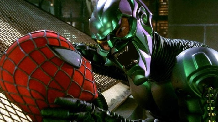 Spider-Man 2002 Green Goblin Willem Dafoe