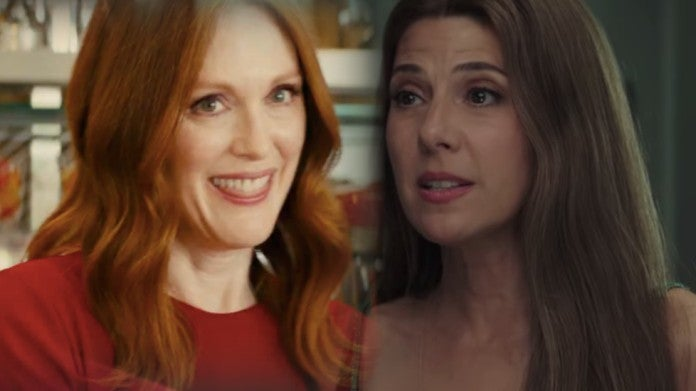 Spider-Man far From Home Marisa Tomei Julianne Moore cousins