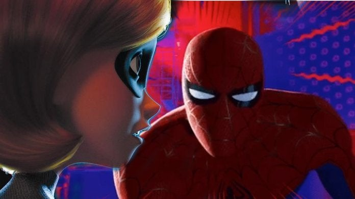 Spider-Man Into the Spider-Verse Incredibles Oscars Troll