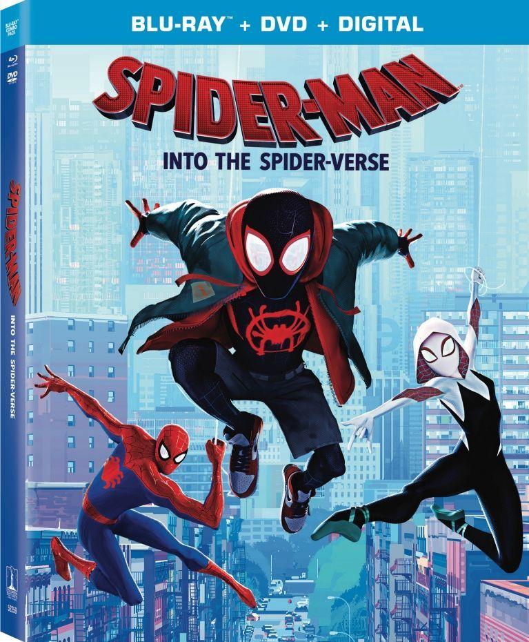SpiderVerse Blu ray