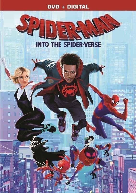 SpiderVerse DVD