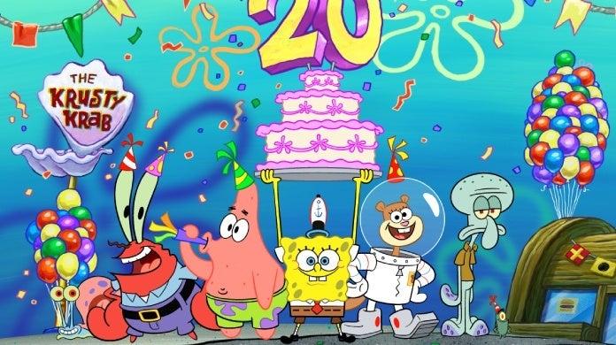 spongebob squarepants 20th anniversary best year ever