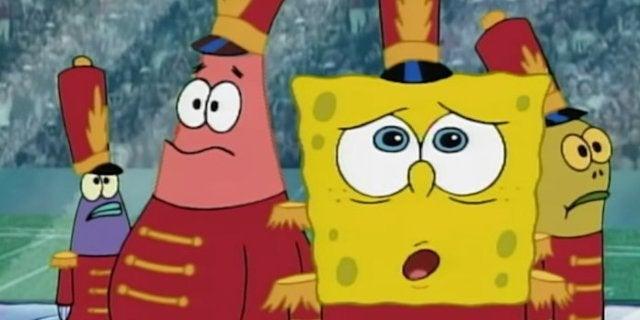 Spongebob Squarepants Sweet Victory halftime