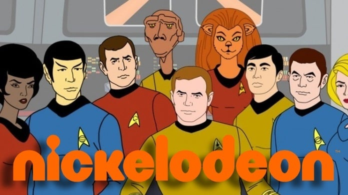 star trek animated series nickelodeon
