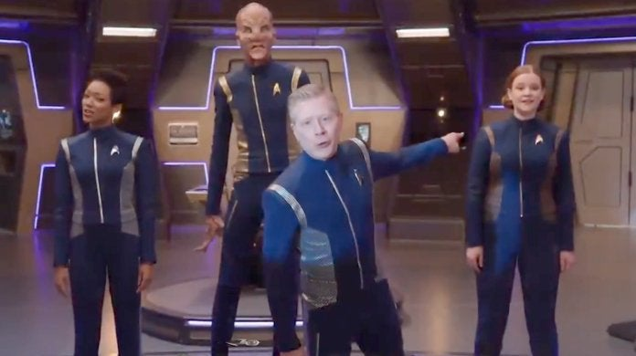 Star Trek Discovery Carpool Karoke