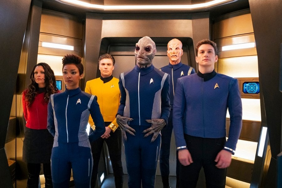 Star Trek Discovery Starfleet Uniforms
