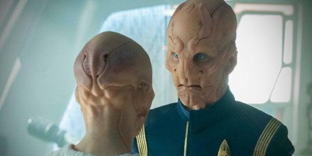 Star Trek Discovery The Sound of Thunder Saru