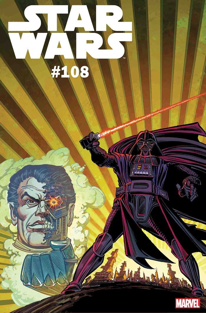 star wars 108 marvel comics variant cover
