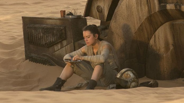 star wars the force awakens rey jakku