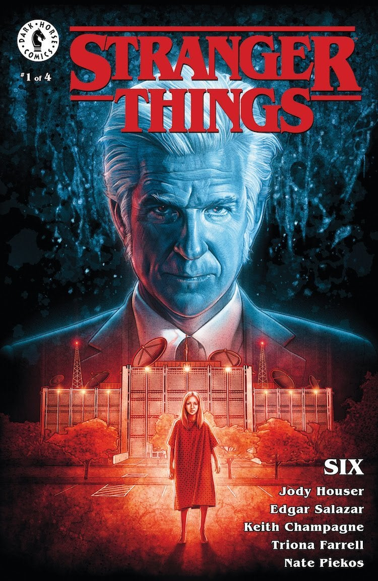 stranger things comic six dark horse cover 2