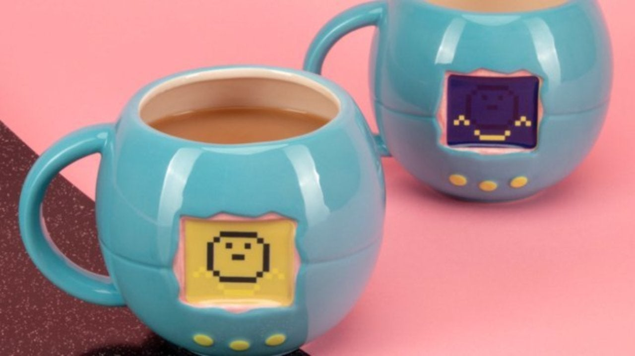 This Tamagotchi Heat Change Coffee Mug is Easy to Keep Alive