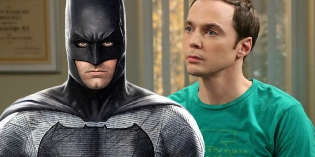 the big bang theory batman ben affleck
