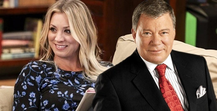 the big bang theory kaley cuoco william shatner priceline