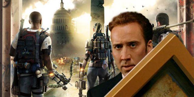 The Division 2 Ubisoft Nicolas Cage Private Beta