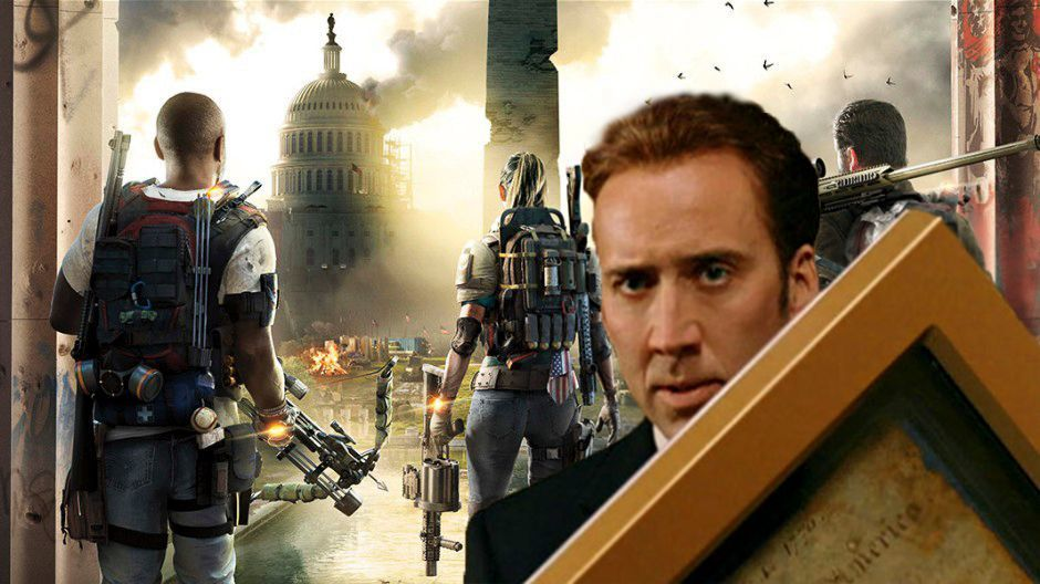 The Division 2 Ubisoft Nicolas Cage Private Beta