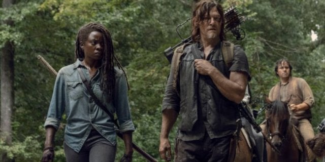 The Walking Dead 909 Daryl Michonne