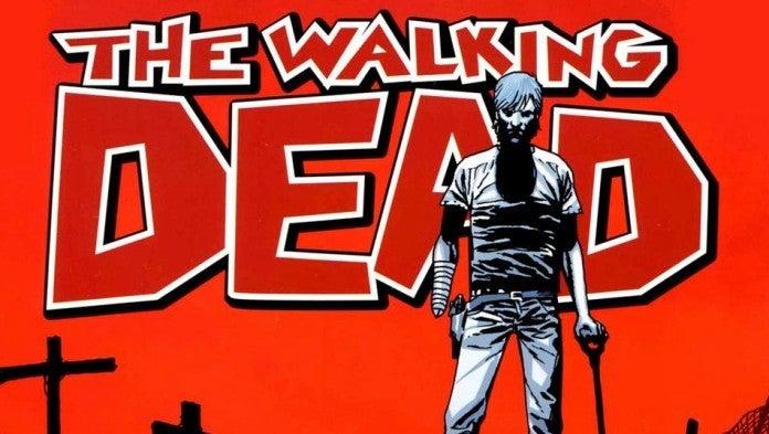 The Walking Dead comics logo