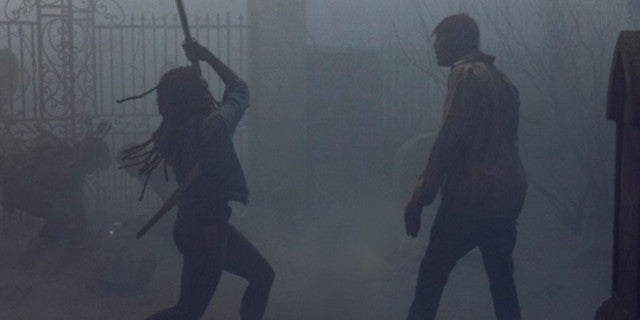 The Walking Dead Danai Gurira Michonne Whisperers