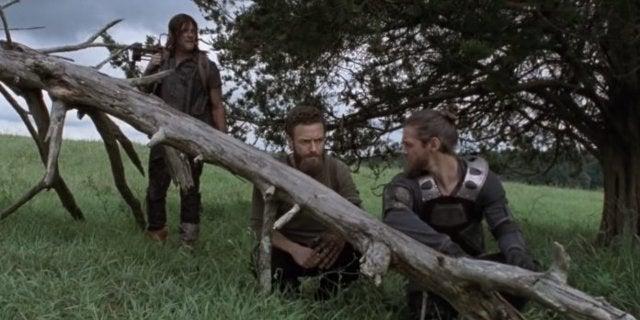 The Walking Dead Daryl Aaron Jesus