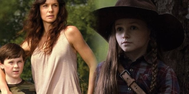 The Walking Dead Grimes family Lori Carl Judith