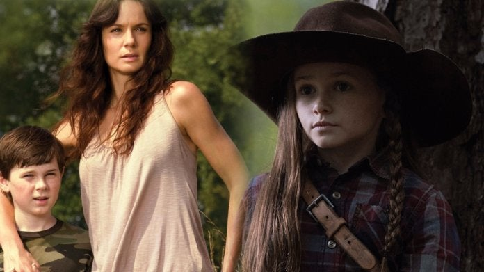 The Walking Dead Grimes family Lori Carl Judith