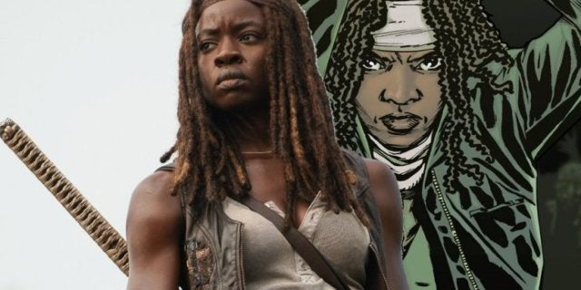 The Walking Dead Gurira Michonne show comics ComicBookcom