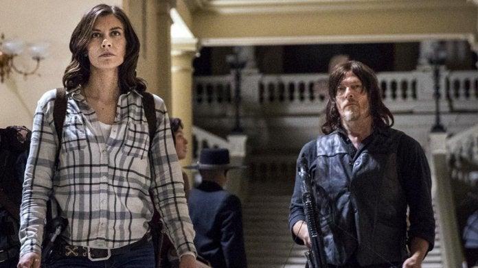 The Walking Dead Lauren Cohan Maggie