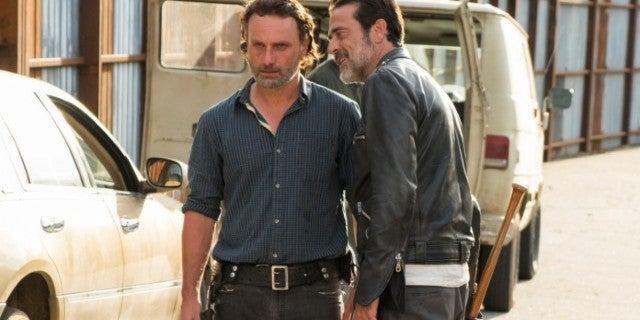 The Walking Dead Negan Rick