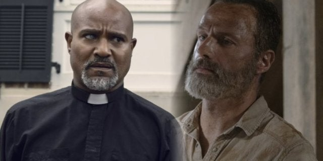 The Walking Dead Rick Grimes Father Gabriel