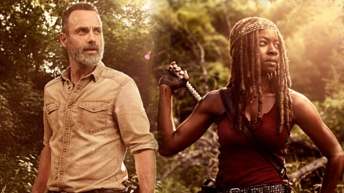 The Walking Dead season 9 Rick and Michonne ComicBookcom