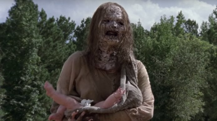 The Walking Dead Whisperers baby
