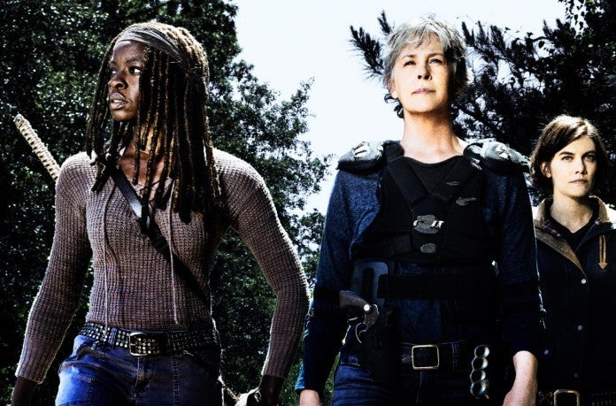 The Walking Dead women